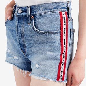 Levi's Limited 501 High Rise Denim Shorts Sz:29